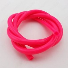 High Quality Silicone Fuel Tube (Pink) Per Metre