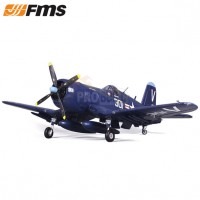 FMS F4U-4 CORSAIR ARTF W/RETRACT W/O TX/RX/BAT - V3