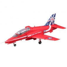 FMS 1042MM RED BAE HAWK 80MM EDF ARTF with out TX/RX/BATT