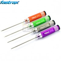 FASTRAX HARDENED IMPERIAL HEX DRIVER SET (4)