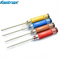FASTRAX HARDENED METRIC HEX DRIVER SET (4)