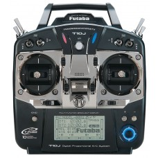Futaba T10J 10 Channel Combo 2.4GHz (Mode 1) (N-Tx) R3008SB