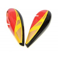 Spats GB MODELS Extra330SC yellow / red