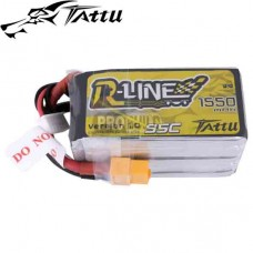 Tattu R-Line 1550mAh 95C 5S1P lipo battery pack