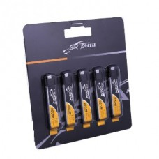Tattu 220mAh 3.7V 45C 1S1P Lipo Battery Pack with EFLITE Plug (5 pcs/pack)