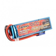 Gens ace 4000mAh 22.2V 45C 6S1P Lipo Battery Pack