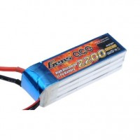 Gens ace 2200mAh 14.8V 30C 4S1P Lipo Battery Pack