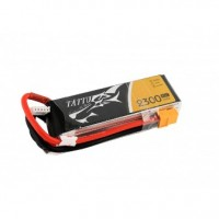 TATTU 2300mAh 14.8V 45C 4S1P Lipo Battery Pack