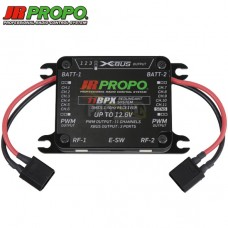 JR Propo 11BPX DMSS 2.4GHz Receiver with two RA03TL satellite receivers