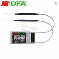JR/DFA RG613BX 6-Ch DMSS Rx with XBus (Antenna Diversity Type)