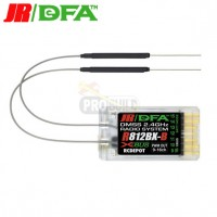 JR/DFA RG812BX-B DMSS Extended Channel (9-16) Receiver