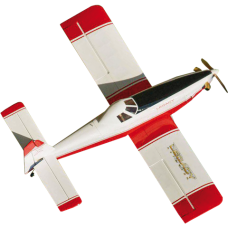"Legacy Aviation 65"" Turbo Duster - Red/White"