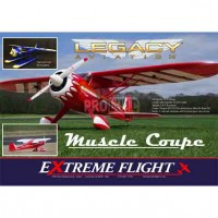 "Legacy Aviation 72"" Muscle Coupe - Red"