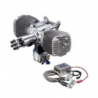 OS GT120T 2 stroke boxer twin gasoline engine 120cc