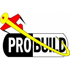 Probuild logo decal