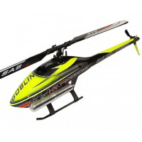 KIT GOBLIN BLACK NITRO YELLOW/CARBON (WITH THUNDERBOLT MAIN AND TAIL BLADES)