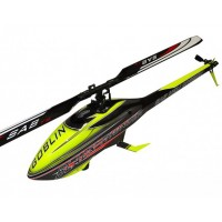 KIT GOBLIN BLACK THUNDER YELLOW/CARBON (WITH THUNDERBOLT MAIN AND TAIL BLADES)