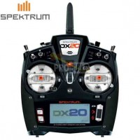 Spektrum DX20 20-Channel DSMX Transmitter with AR9020 EU Version
