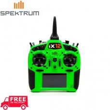 Spektrum iX12 12 Channel Transmitter Only (Green)