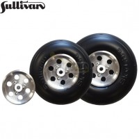 "Sullivan 3.5"" Skylite Wheel with Aluminum Hub (1pc)"