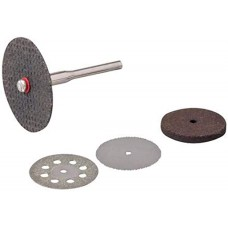 Rotary Tool Cutting & Grinding Disc Set 5pce 22, 32mm Dia