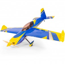 "Extreme Flight 48"" EDGE 540T EXP V2 Blue/Yellow - IN STOCK"