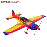 "Extreme Flight 60"" Extra 300-EXP V2 Yellow/Red/Blue"