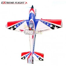 "Extreme Flight 74"" Laser EXP V2 - Red White Blue Scheme"