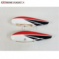 "EF 91"" Extra 300 Wheel Pants- Red"