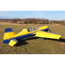 "Extreme Flight 110"" Yak 54 V2 Yellow/Dark Blue"