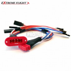 Extreme Flight MPX Multi-wire Servo Plug - 3 Wire