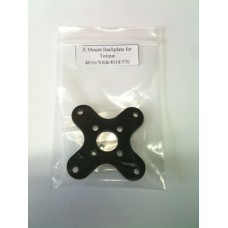 """X"" Mount Backplate for Torque 4016/500"