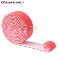 Extreme Flight Velcro Strap 2M x 20mm - Red