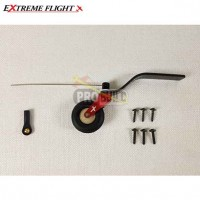 "Extreme Flight 79-95"""" Aircraft Carbon Fiber Tail Wheel Assembly"