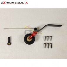 "Extreme Flight 70-78"""" Aircraft Carbon Fiber Tail Wheel Assembly"