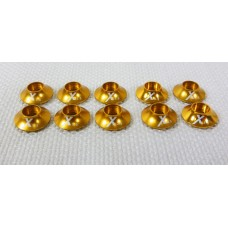 Extreme Flight Gold Anodised Washer set 3.0mm