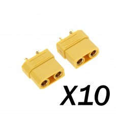 XT60 Connector Set w/HS 10 pairs