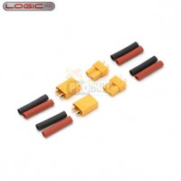 XT30 Connector Set w/HS 2 pairs
