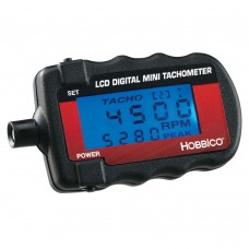Hobbico Mini Digital Tachometer with Blue Backlit LCD