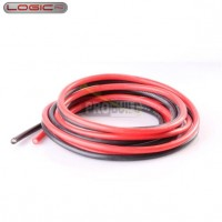 Silicone Wire 10AWG 1m Black/1m Red (1050 Strands OD5.5mm)