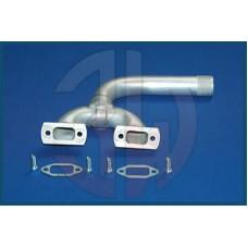 3W Exhaust Manifold 110iR2, 2in1