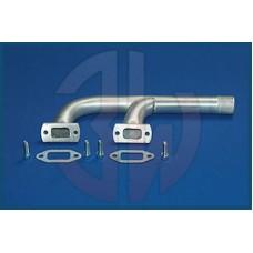 3W Exhaust Manifold 140i R2/ 150iR2, 2in1, F - Shape