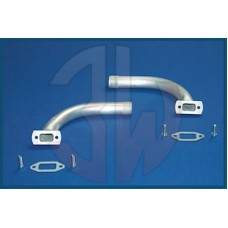 3W Exhaust Manifold 85iB2 / 106i / 110i, Weiter Radius