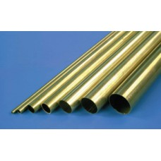 K&S 1/16 RD. BRASS. TUBE .014 WALL 36ins