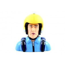 Miracle Helmet 1/3rd Pilot - Blue