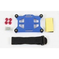 Miracle RC CDI & Receiver Shock-Absorbing Stand - Blue