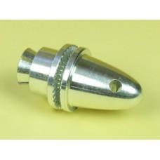 JP MED COLLET PROP ADAPTOR WITH SPINNER (4mm)