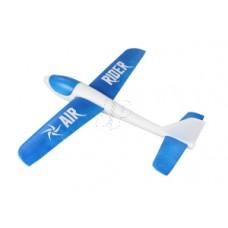 JP AIR RIDER EPO FREE FLIGHT GLIDER (BLUE)