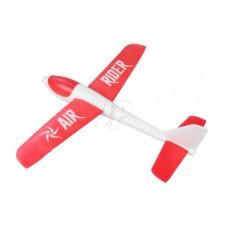 JP AIR RIDER EPO FREE FLIGHT GLIDER (RED)