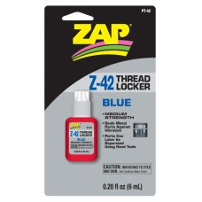 ZAP PT42 THREAD LOCKER Z-42 (BLUE) 0.2oz